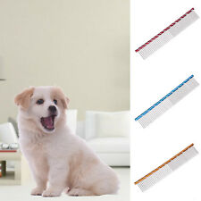 Pet Dog Cat Grooming Dematting Comb Grooming Stainless Metal Hair Trimmer Comb