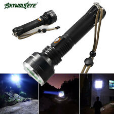 5000 LM Zoomable CREE XM-L T6 LED 5Modes 18650/AAA/26650 waterproof Flashlight