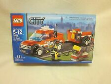 New Lego 7942 City Off Road Fire Rescue Truck Set 130 Pieces