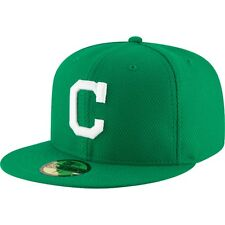 CLEVELAND INDIANS ST. PATS ON FIELD AUTHENTIC NEW ERA 59FIFTY FITTED HAT/CAP NWT