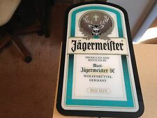 "Jagermeister Lighted Bar/Man Cave Sign - 231/2"" x 13"" x 5/8"""