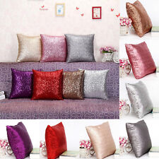 NEW Double Glitter Sequins Throw Pillow Case Cafe Sofa Home Decor Cushion Covers