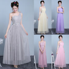 Lady Long Dress Wedding Evening Formal Party Ball Gown Prom Bridesmaid Dresses