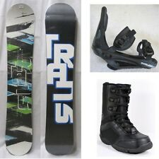 NEW TRANS SNOWBOARD, BINDINGS, BOOTS PACKAGE - 148cm, 152cm