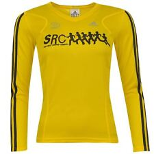 adidas Ladies Womens Sports Running Long Sleeved Top V-Neck