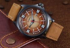 Curren Men's Watch Casual Date Sport PU Leather Analog Quartz Wrist Watch