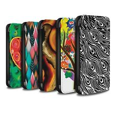 STUFF4 PU Leather Case/Cover/Wallet for Samsung Galaxy J3/Modern Vibrant