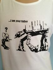 AT-AT , AT-SW, i am your father, funny Retro Star Wars parody T Shirt