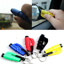 Car Auto Emergency Safety Hammer Rescue Belt Window Breaker KeyChain Escape Tool