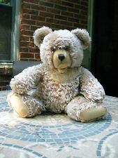 "Large Vintage 21"" 1950's Old Zotty Steiff Teddy Bear."