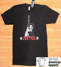 Clint Eastwood Dirty Harry Justice T-Shirt American Apparel 100% cotton