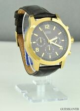 New with Tag GUESS Unisex Men Watch Brown Leather U11059G2 BNWT