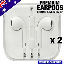 EarPods Genuine Earphones Apple iPhone 6 5 5s 4 Remote & Mic x2 Premium Quality