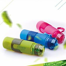 Water Bottle 650ml Silicone Foldable Collapsible Sport Fruit Portable My Bottle