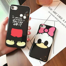 Lovely cartoon Disney Mickey mouse Daisy Soft case Cover for iPhone 7 6 6S Plus