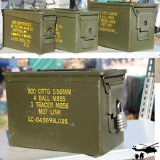 BW Ammunition box lockable with seal Metal box Container Metal Box