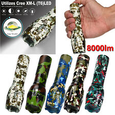 8000LM Super Bright X800 Tactical Flashlight LED Zoom Military Torch G700 Lamps