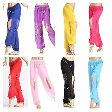 Belly Dancing Costume Bollywood Indian Dance Dress Carnival Party Pants Outfit