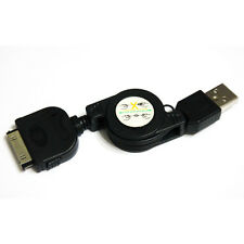 USB RETRACTABLE Data Sync Charger Cable Cord for Apple iPad 3 2 iPhone 4s 4 3Gs