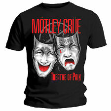 Official Unisex Men's MOTLEY CRUE THEATRE OF PAIN Music Band T Shirt