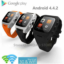 Android 3G Wifi GPS Smart Watch Phone SIM Card SmartWatch Waterproof Wristwatch