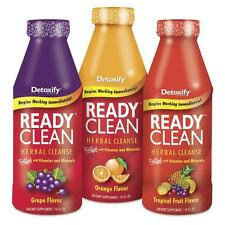 Ready Clean Detox Herbal Cleanse Vitamin Mineral 16oz - Free FAST Shipping!!
