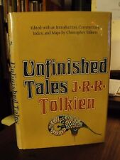 J.R.R. Tolkien UNFINISHED TALES 1st Edition in Jacket