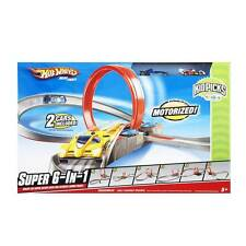 Super 6 in 1 Race Set from Hot Wheels Track Motorised 2 cars included