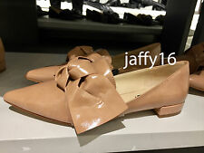 ZARA FLAT SHOES WITH BOW DETAIL NUDE 35-41 REF. 2410/201