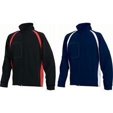 Mens Finden Hales Team 3 Layer with Neck Collar Zip Softshell Jacket Coat