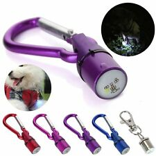 5Colors Pet Dog Cat Night Safety Waterproof Flash LED Light Shining Collar Tag