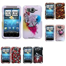 For HTC Inspire 4G Design Snap-On Hard Case Phone Cover