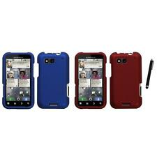 For Motorola Defy MB525 Snap-On Hard Case Phone Skin Cover Accessory Stylus Pen