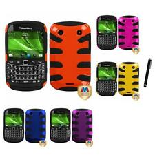 For BlackBerry Bold Touch 9900 9330 Hybrid Hard Soft Armor Case Stylus Pen