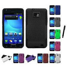 For Samsung Galaxy S2 i9100 Hybrid Rugged Impact Hard Soft Case Cover Stylus Pen