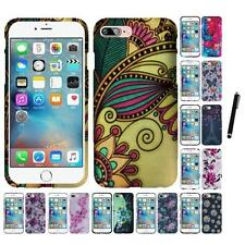 For Apple iPhone 7 Plus Snap-On Design Rubberized Hard Case Cover Stylus Pen