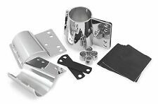 National Cycle KIT-CHK Heavy Duty Narrow Frame Windshield Mount Kit Chrome