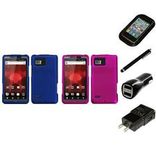 For Motorola Droid Bionic XT875 Snap-On Hard Case Cover Accessory Charger Stylus