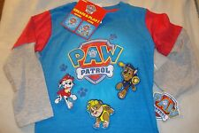 PAW PATROL  CREATE & PLAY DETACHABLE CHARACTER PATCHES GRAPHIC TEE SHIRT NWTS