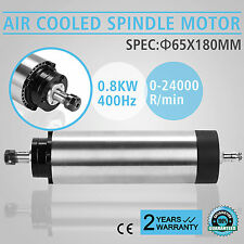 CNC 0.8KW Air Cooled Spindle Motor ER11 Milling Engraver Grinding WHOLESALE