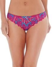 Lepel Fiore Lace Thong 0932120 Fuschia Pink/Blue * New Lingerie