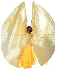 Professional Belly Dance Costume Split Isis Wings Shawl India Dance accessories