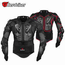 Motorcycle Full Body Armor Jacket Motocross Racing Spine Chest Protector Gear US