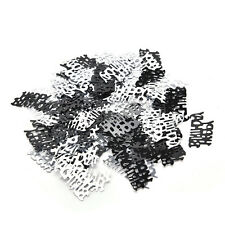 21st Birthday Party Supplies Confetti Black Silver Table Scatters Decorations Ñj
