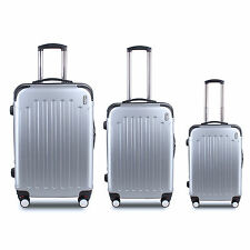 """20"""" 24"""" 28"""" Carry-on Travel Luggage Hard Suitcase Expandable Spinner Trolley US"""