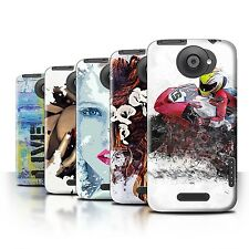 STUFF4 Back Case/Cover/Skin for HTC One X/Fragments