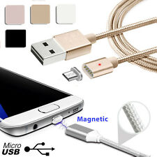 Real 2.4A HIGH SPEED Charge Magnetic Micro USB Rapid Sync Charging Cable Adapter