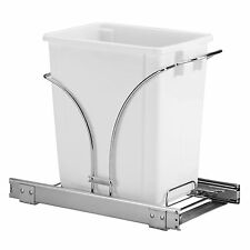 Household Essentials Under Cabinet Single Sliding Trash Can Caddy