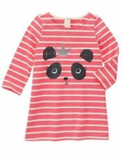 NWT Gymboree MIX N MATCH Sz 18-24 M 2T 3T Striped Panda Shift Dress
