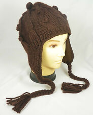 Ear-Flap Hat - Crochet Ear Flap Hat - Ear Flap Beanie - Winter Hat - Beanie Hat